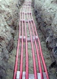 прокладка силовых кабелей. Владимирские электрики.