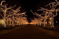 Подключение освещения зданий в Владимире