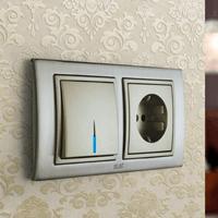 Установка выключателей в Владимире. Монтаж, ремонт, замена выключателей, розеток Владимир.